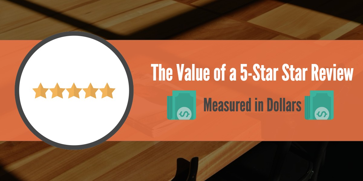 value of a 5-star review