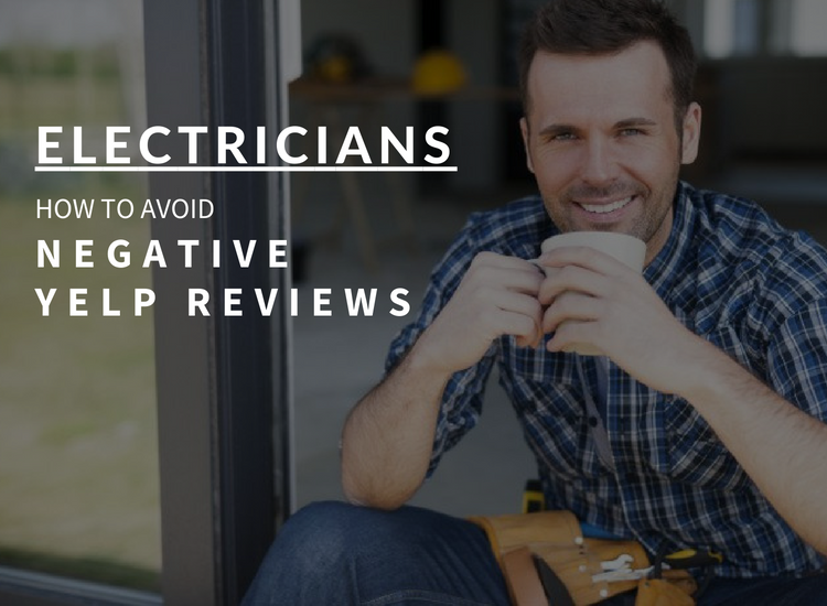 electricians yelp reviews infographic