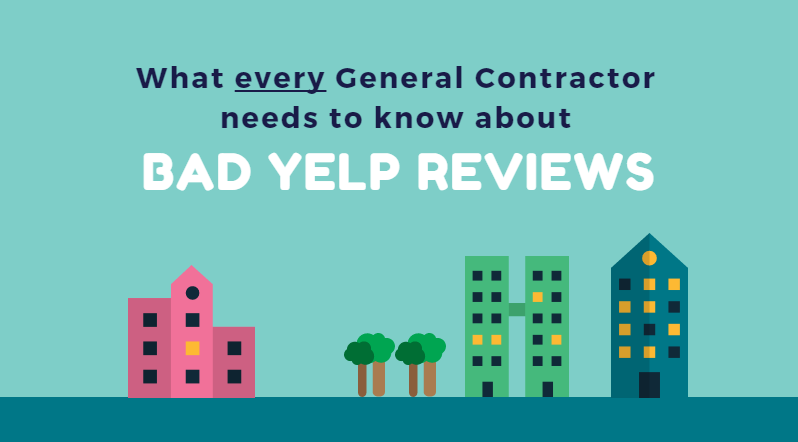 bad yelp reviews general contractor